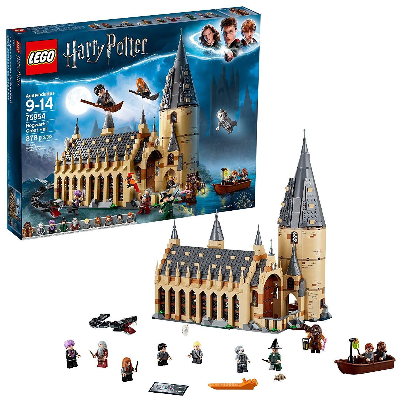 Lego Harry Potter Hogwarts Great Hall Building Kit 878 Piece Multicolor Toys Games Hogwarts Lego Regalos De Harry Potter Lego Harry Potter