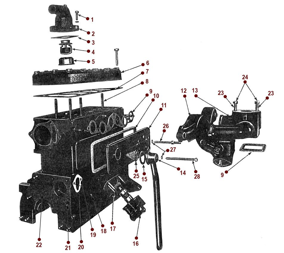 medium resolution of 4 134 l head engine 4 134 l engine engine diagrams willys cj 2a 46 49 cj 2a diagrams shop by diagram