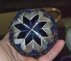 How to Make a Folded Star Christmas Ornament