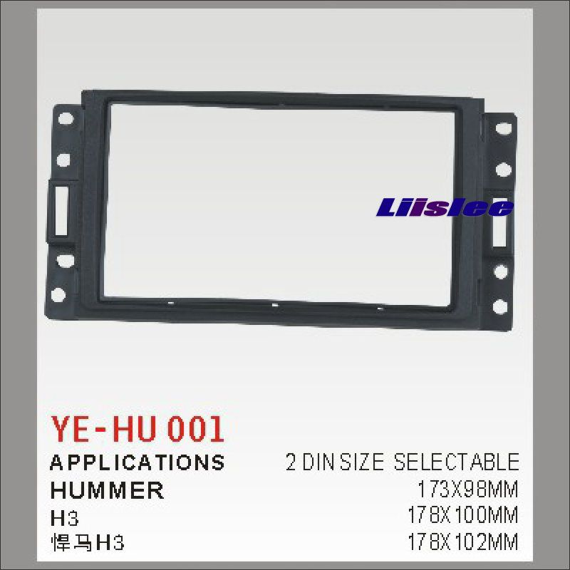 For Hummer H3 Car Stereo Radio ABS Fascia Plate Panel Frame ... on ford excursion stereo wiring, toyota 4runner stereo wiring, jeep patriot stereo wiring, ford explorer stereo wiring, nissan rogue stereo wiring, chevy silverado stereo wiring, chevy tahoe stereo wiring,