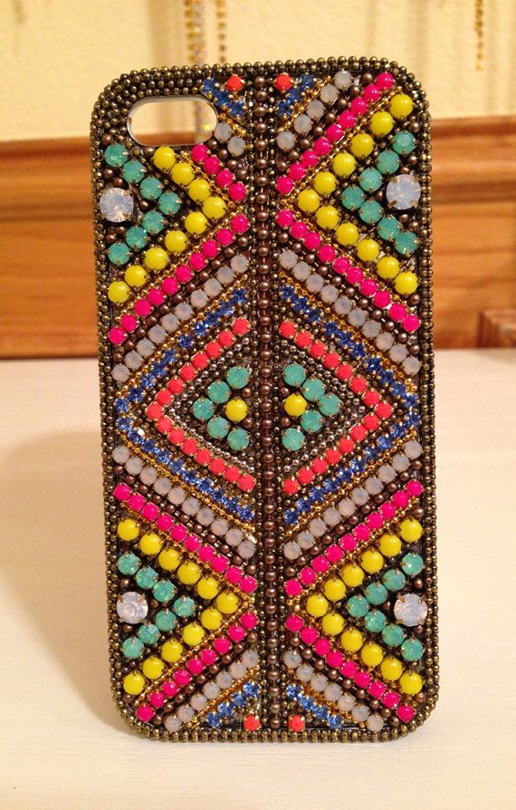 iPhone 5 case with Genuine Swarovski Crystal and Austrian Crystal chain aa394d24c