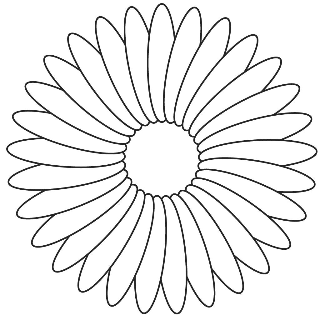 flower template for cut out FLOWER TEMPLATES Art projects for