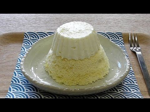 Snow Mount Fuji No-bake cheesecake 富士山 レア チーズ ケーキ - YouTube