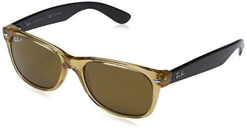 80919c5829 Ray Ban Sunglasses RB 2132 New Wayfarer RB2132 945 57 Acetate plastic Brown  - Black Brown polarized