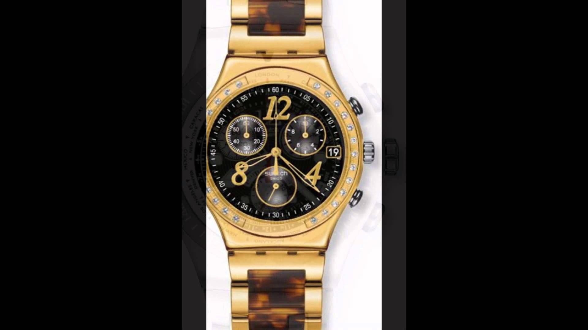 سواتش ساعات تسوق احدث سواتش للبيع Swatch Watch Gold Watch Accessories Gold