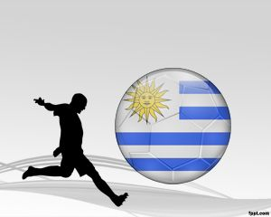 Uruguayan Soccer Ppt Is A Free Sports Template For Powerpoint