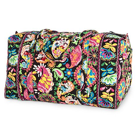 Vera Bradley Has A Whole Collection Of These Bags Duffel Cosmetics Shoulder Wallet Perfect For Disney