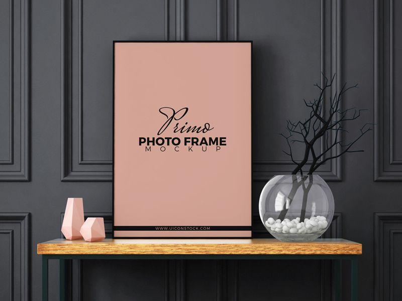 Free Primo Photo Frame MockUp Psd | Mockup, Promotional design and ...