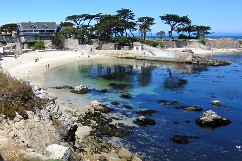 Beautiful Point In Pacific Grove California Short Walk From Cannery