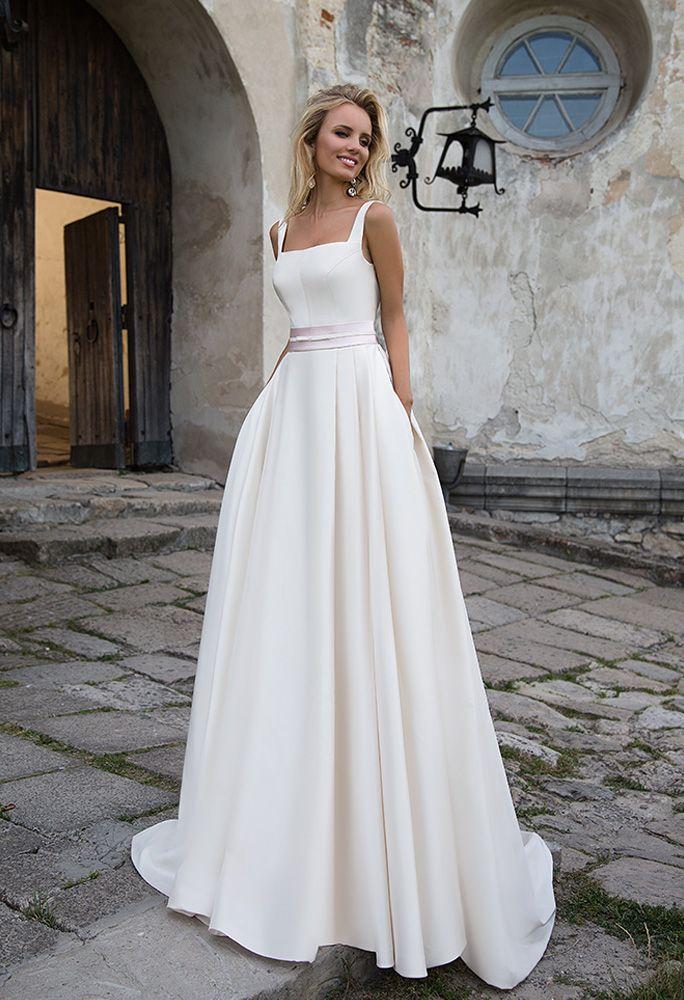 satin material | estilo inspirador | vestidos de novia blancos