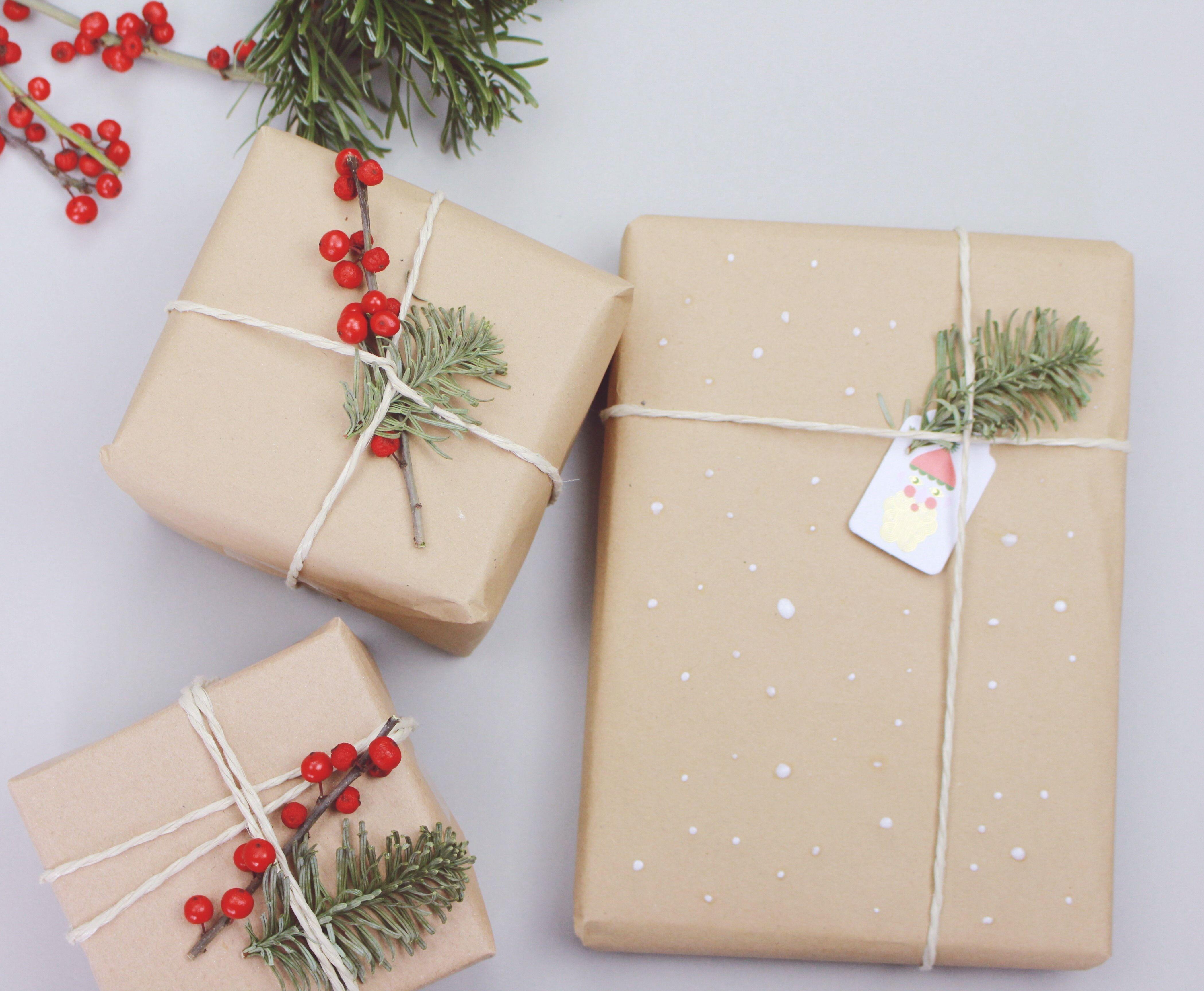 Geschenke verpacken wie bei douglas