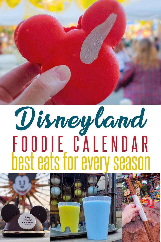 Plan Your Disneyland Vacation Based On The Food Calendar Best Disneyland Food Disneyland Food Disneyland Restaurants