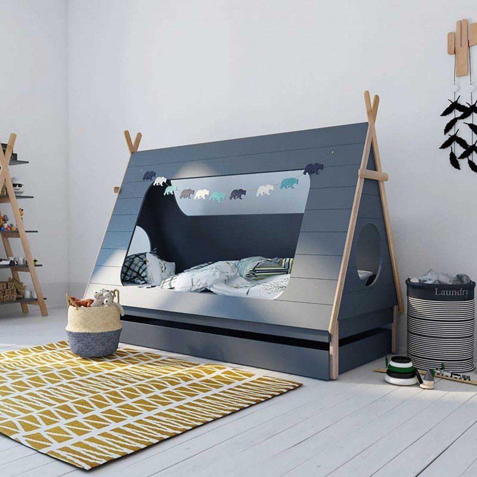 Bett Tipi 90 x 200 cm hier werden die Kleinsten zu
