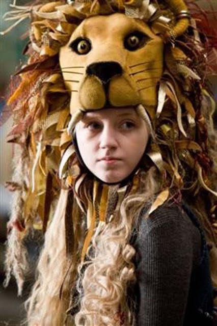 70ce3940351 Luna Lovegood Lion Headdress DIY in 2019