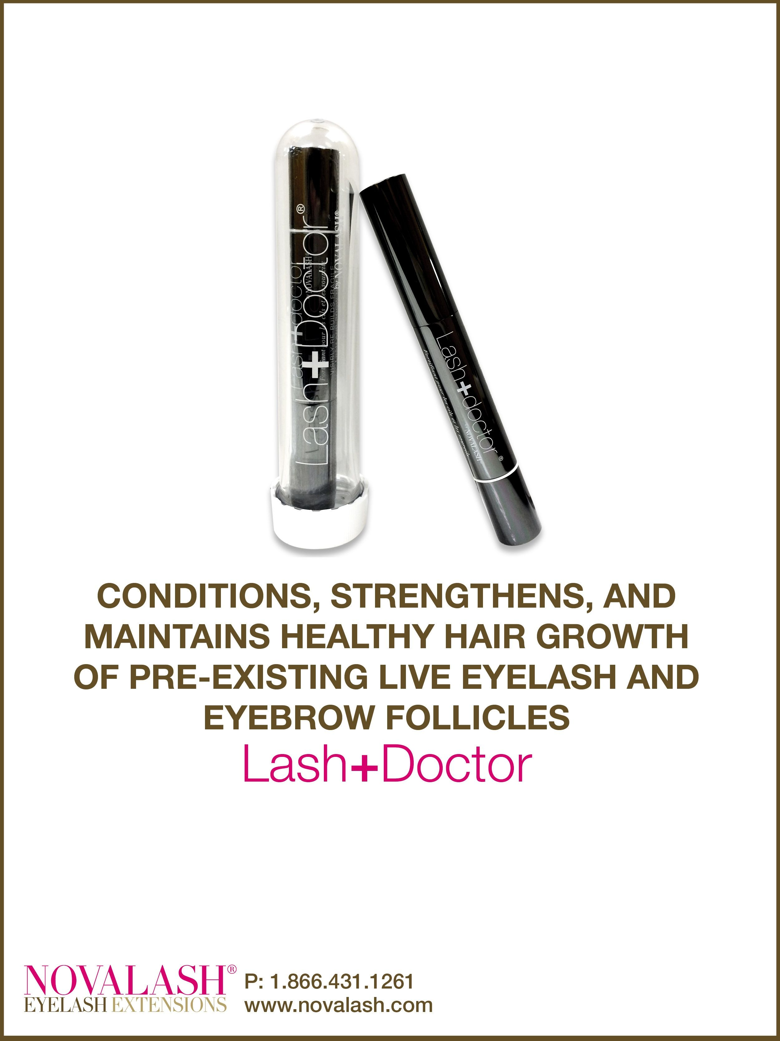 Good Morning Lashionistas! Looking for a product that strengthens your natural lashes? The NovaLash Lash+Doctor conditions, strengthens, and maintains healthy hair growth of your pre-existing eyelash and eyebrow follicles! Call us TODAY to order yours! #effortlessbeauty #beautiful #itsnovalashornothing #eyes #makeup #lashes