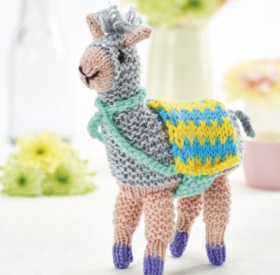 Fizz The Llama Knitted Animals Plants Toys Etc Pinterest