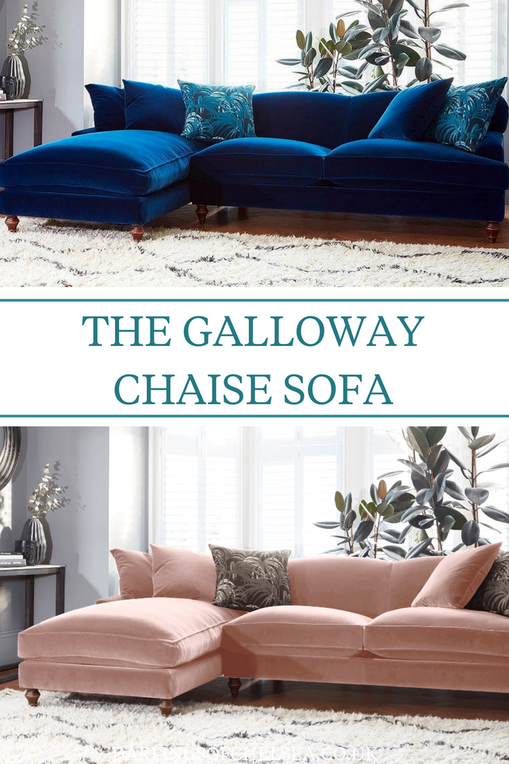 Galloway Chaise Sofa Left Or Right Chaise Sofa Luxury Sofa