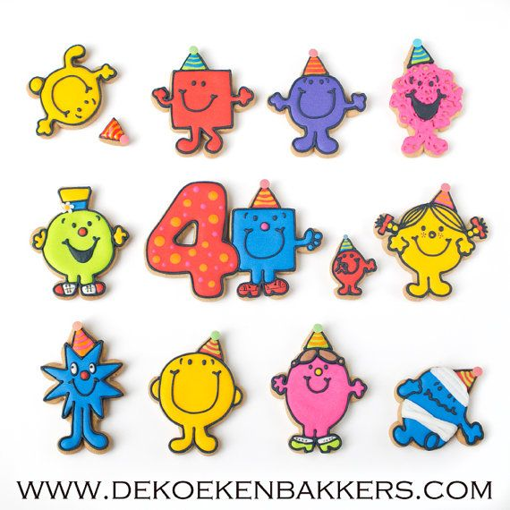 Signor compleanno Cookie Cutter di 3DCookieCutterShop su Etsy