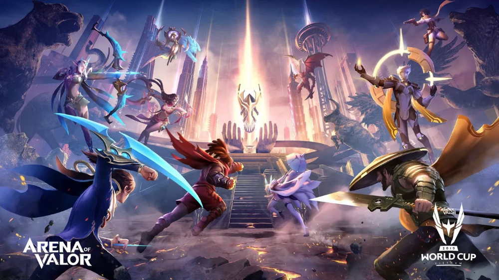 Arena Of Valor Wallpaper Google Search Concept Art Wallpaper Art