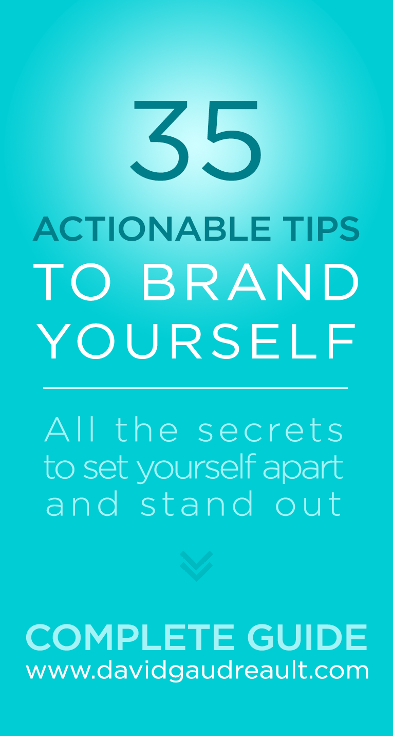 How To Brand Yourself 35 Easy Actionable Tips Complete Guide Building A Personal Brand Branding Your Business Brand You