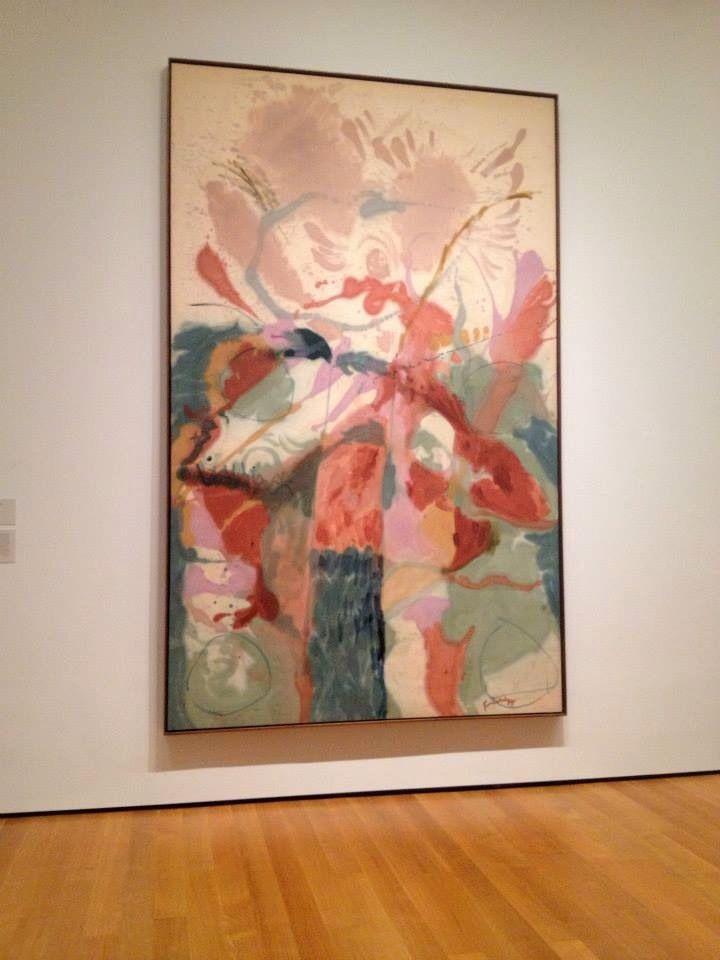 Helen frankenthaler artist painting moma museum of modern art new york
