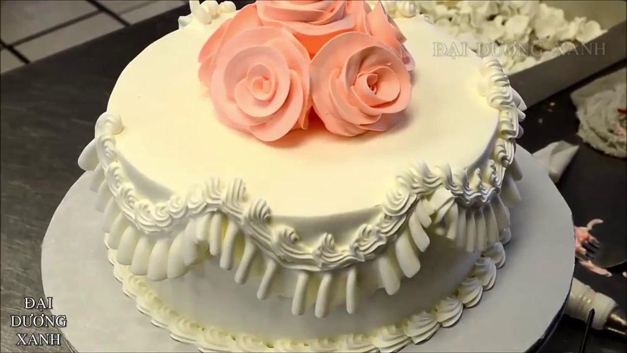 Small Wedding cake decorating tutorial YouTube 720p | Wedding Cakes ...