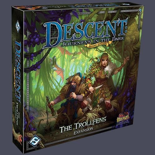 Descent - It is like Dungeons and Dragons light  Cooperative