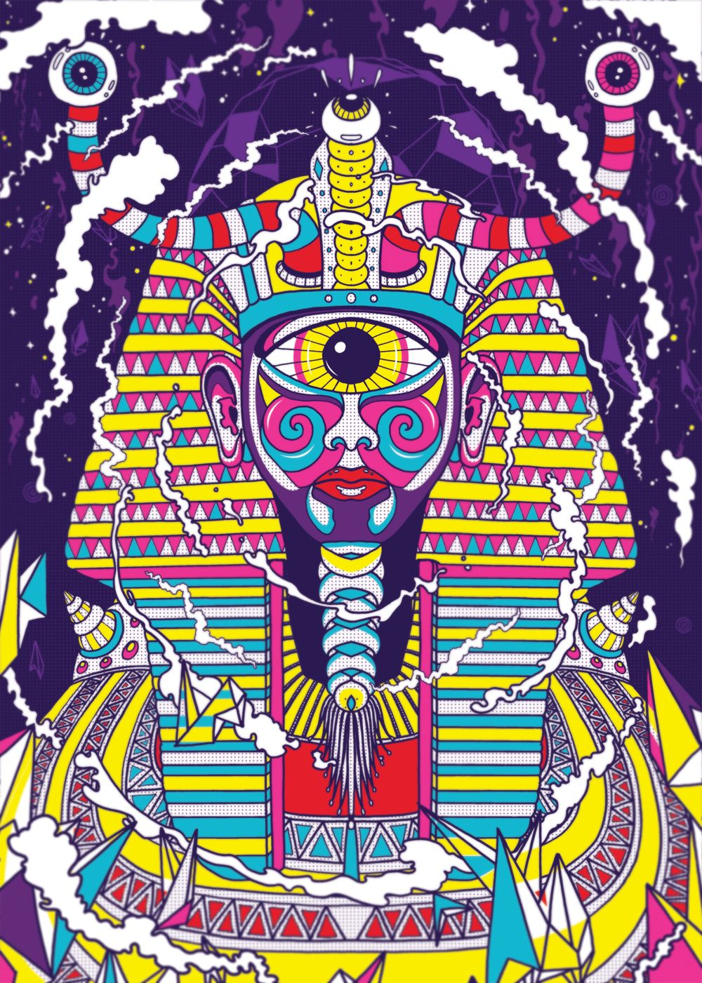 b4b6d07ee Photoshop tutorial: Create super psychedelic artwork Ollie Munden explains  how to create 70s-inspired poster art using sketching and multi-layering ...