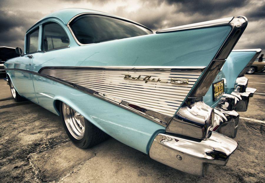 1957 Chevrolet 2 door at All American Car Show, Castle Hill, Sydney ...