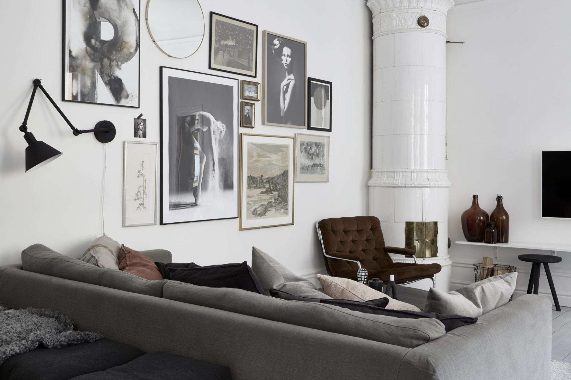Pisos modernos piso peque o y elegante estilo escandinavo for Pisos modernos pequenos