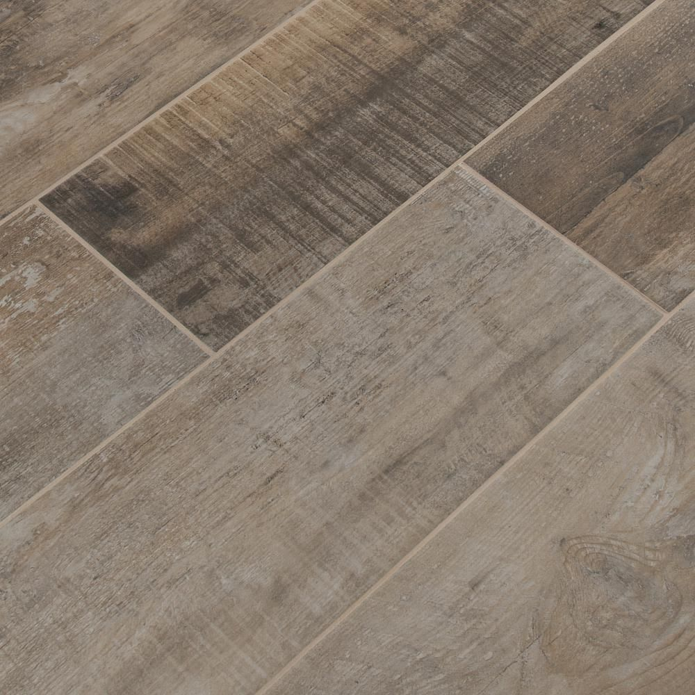 Premier Decor Tile By Msi Msi Barnwood Cognac 8 Inx 36 Inglazed Porcelain Floor And Wall