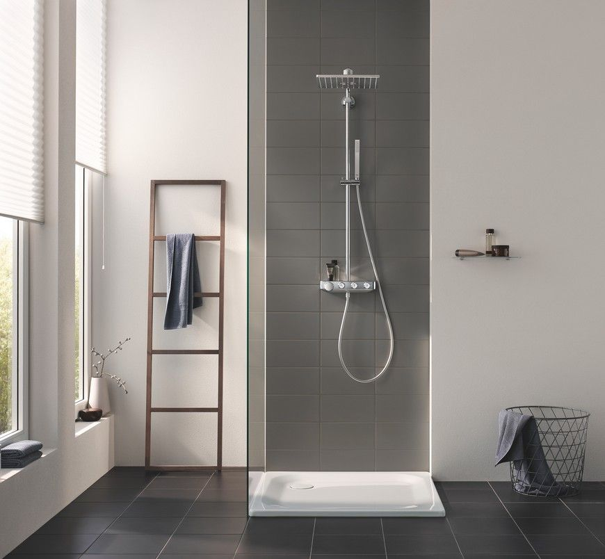 Euphoria Smartcontrol Is The New Bathroom Shower System By Grohe Design Badkamer Badkamer Stijl Badkamer Makeovers