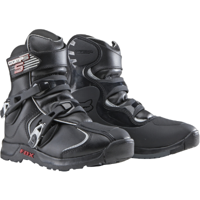 Fox Comp 5 Shorty Motorcycle Boots Boots Mx Boots