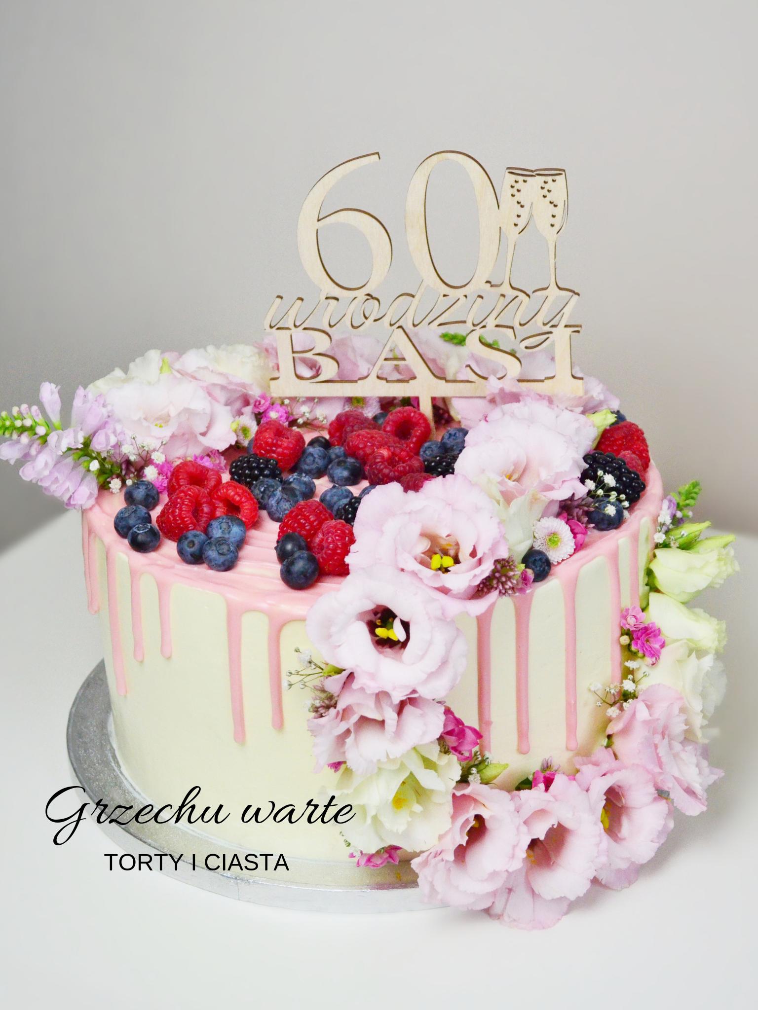 Tort Jogurtowy Cake Birthday Cake Desserts