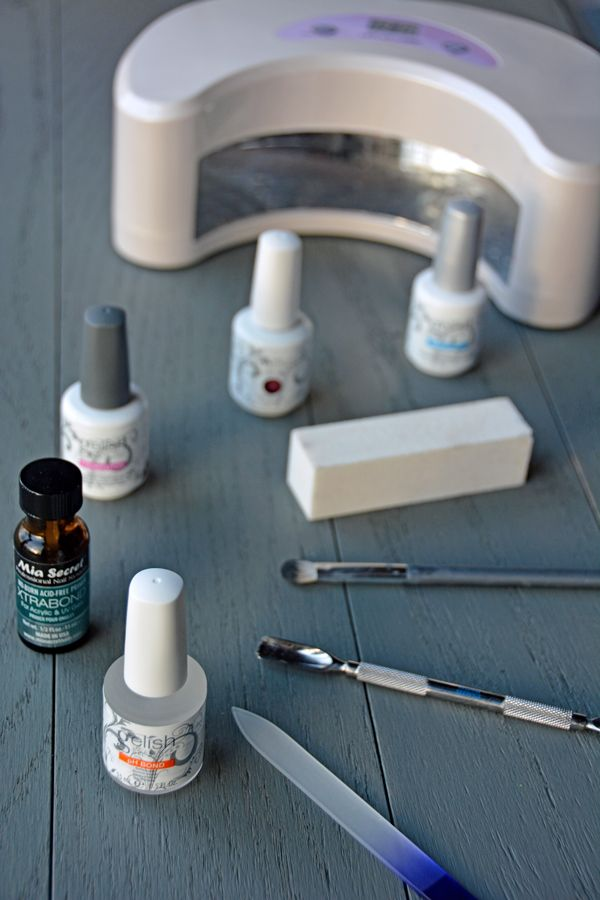 How To Do Your Own Gelish Manicure And Make Gelish Nails Last Longer Gelish Manicure Gelish Nails Gelish Nail Colours