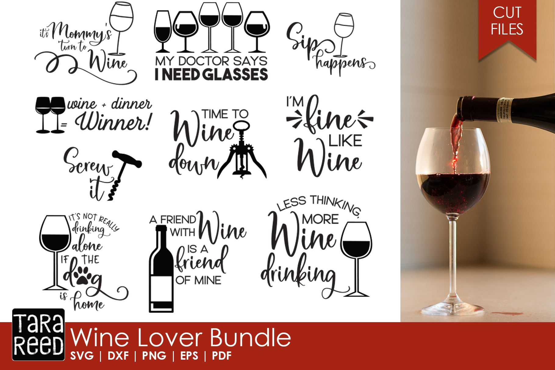 Wine Lover Bundle Wine puns, Wine signs, Wine time