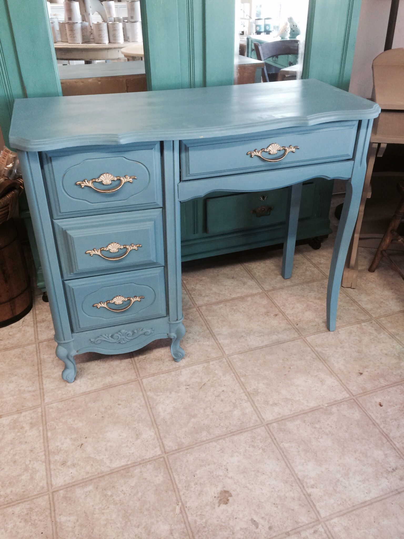sewing desk sold table lamb info regard inspirations to deseta console with for antique small furnishings vintage blinds sale blue