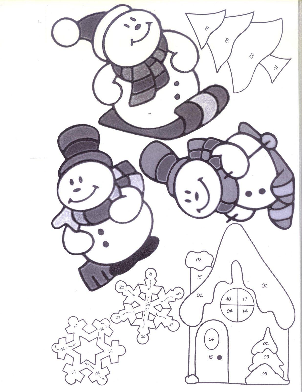 Free Snowmen Patterns