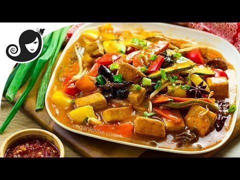 Easy one pan szechuan vegetables and tofu veganvegetarian recipe food forumfinder Images
