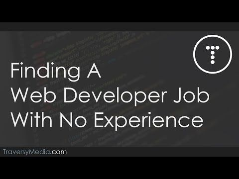 Finding A Web Developer Job With No Experience - YouTube - web developer job description
