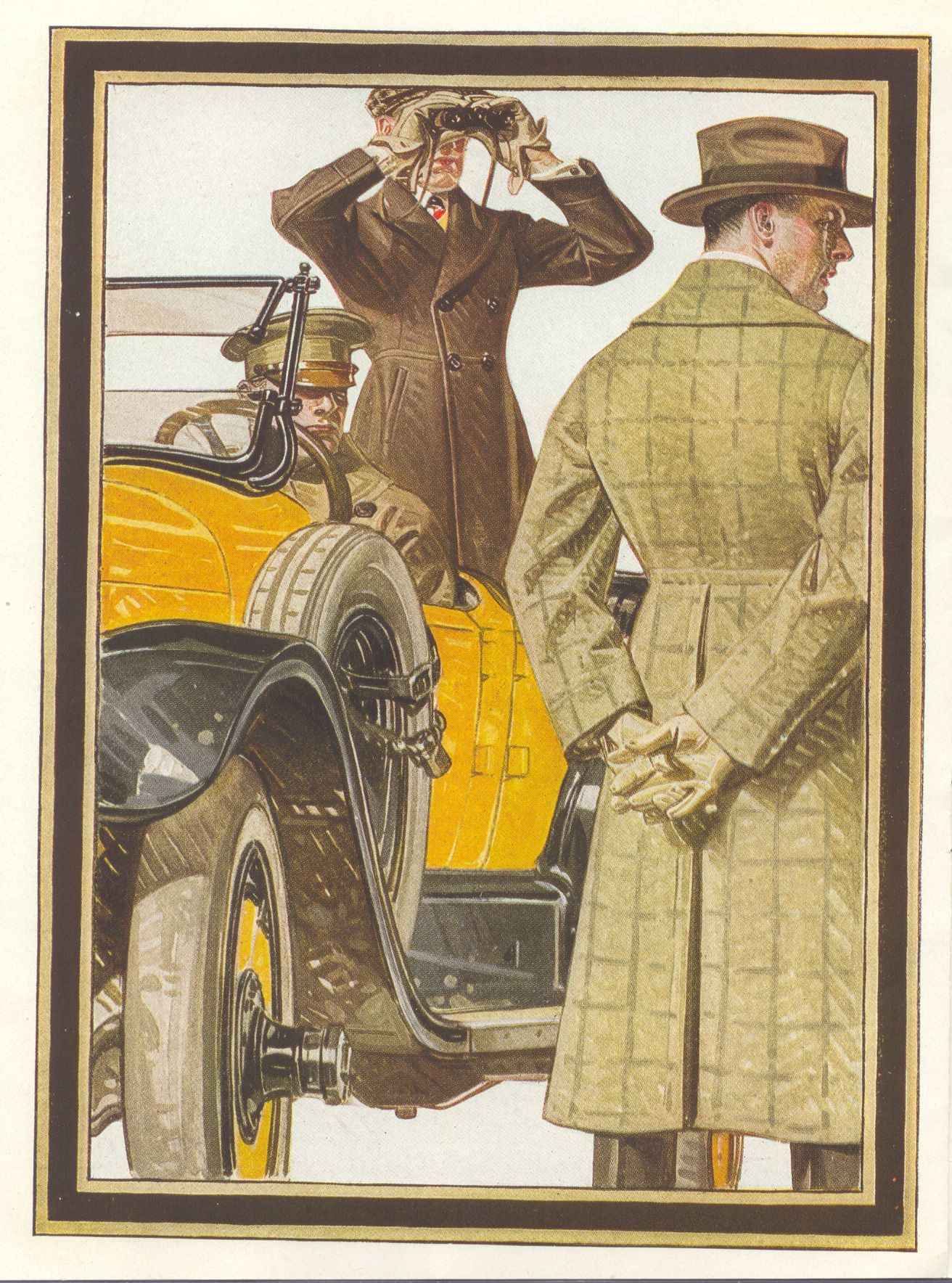 Leyendecker Illustrations | Leyendecker, Kuppenheimer Style Booklet, ... | J. C. Leyendecker