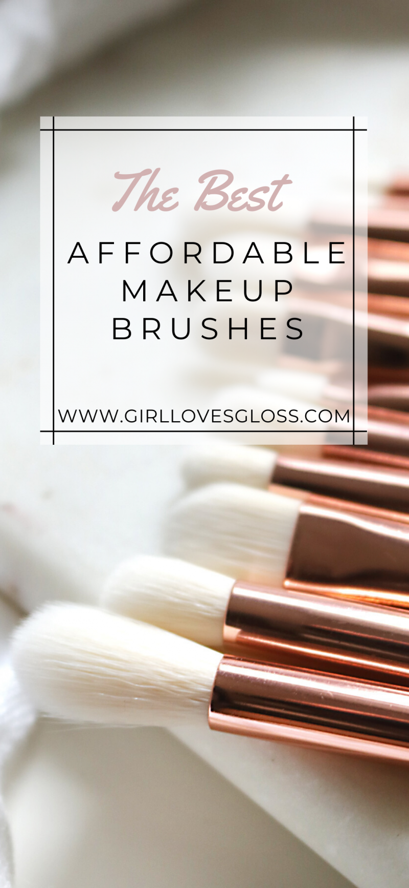 ColourPop Ultimate Brush Roll Best affordable makeup