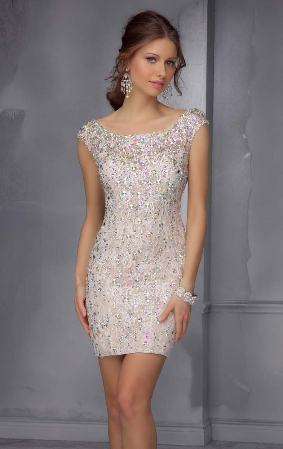 Sparkly dress wish it would be a little longer homecoming