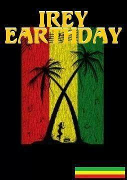 Irie Earthstrong Happy Birthday Reggae Jamaican Music Guitar