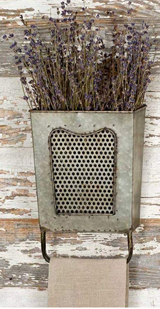 Colonial Tin Works Galvanized Steel Vintage Dalton Wall Box With