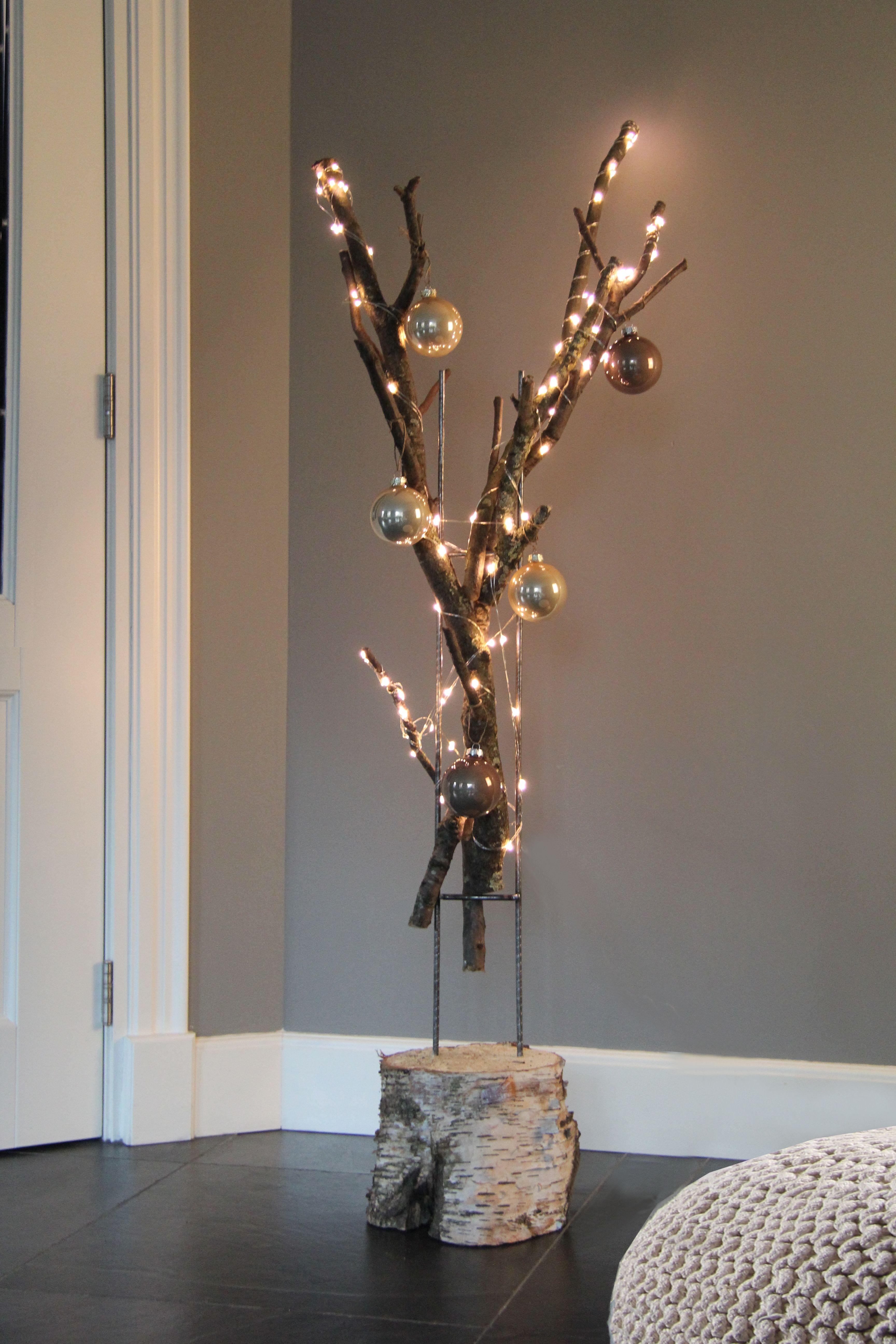 Takken Design ± 120cm Kerst, Decoratie en Takken