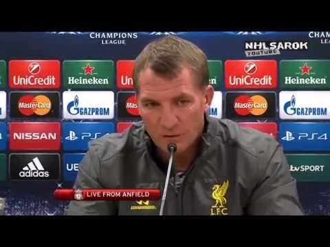 Watch Brendan Rodgers' pre-Ludogorets Champions League Press Conference #LFC