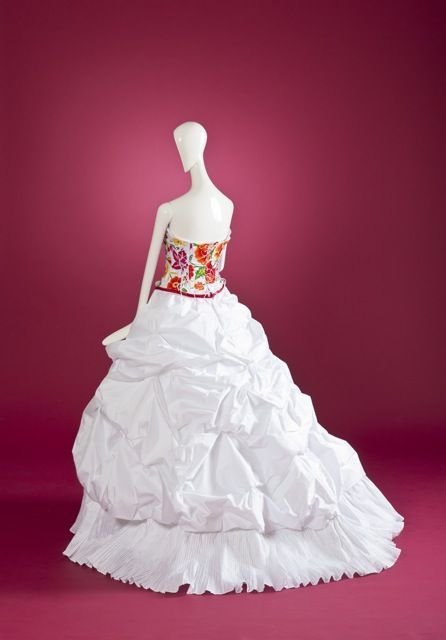 Vestido De Novia Oaxaca Con Bordado De Inspiración étnica