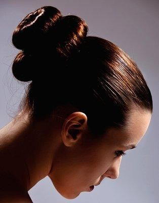 Different Types Of Hair Buns Lovetoknow Types Of Hair Bun Bun Hairstyles Hairstyle Names