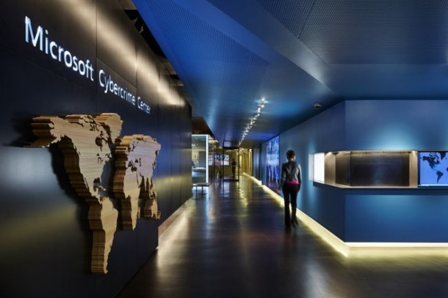Microsoft Cybercrime Center Office Design office  store interiors - innovatives interieur design microsoft